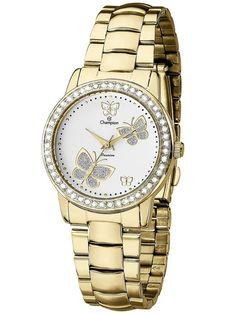 d0016f95dfa Relógio Champion Passion Feminino Dourado CH24115H