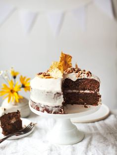 Almond Flour Carrot Cake - My New Roots