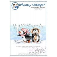 Whimsy stamps - Chrissy Armstrong - Penguin Opps