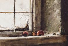 Andrew Wyeth: Looking Out, Looking In.Andrew Wyeth, Frostbitten, watercolor on paper, Private Collection. © Andrew Wyeth 2 of 7 Jamie Wyeth, Andrew Wyeth Paintings, Andrew Wyeth Art, Nc Wyeth, Guache, National Gallery Of Art, Famous Artists, American Artists, Oeuvre D'art