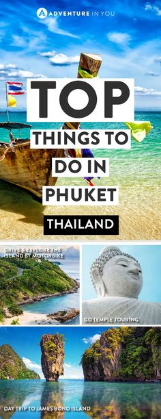 Thailand Phuket | Wondering what there is to do in Phuket Thailand? Here's our guide full of awesome ideas from day trips to seeng Phuket's top attractions.