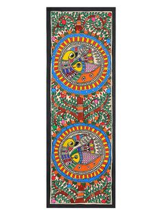 Tree of Life with Peacock Painting x Madhubani Paintings Peacock, Kalamkari Painting, Peacock Painting, Madhubani Art, Indian Art Paintings, Watercolor Paintings Abstract, Ceramic Painting, Oil Paintings, Mandala Drawing