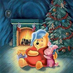Pooh at Christmas