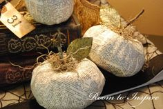 Dollar Store Pumpkins turned chic
