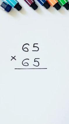 Mental Math Tricks, Cool Math Tricks, Maths Tricks, Simple Math, Basic Math, Math Strategies, Math Resources, Math Tutor, Teaching Math