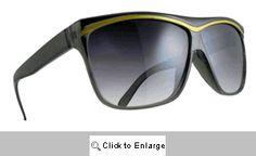 Alexis Gold Trim Sunglasses - 536 Black Black Sunglasses, Vintage Sunglasses, Retro Fashion, Vintage Fashion, Retro Style, Celebs, Summer Sale, Wave, Shades