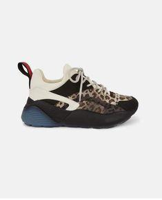 e32182405d61 Stella McCartney Eclypse Leopard Sneakers  women ssneakers Stella Mccartney  Sneakers