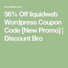 31 best wordpress discount coupons images on pinterest discount 56 off liquidweb wordpress coupon code new promo discount bro fandeluxe Images