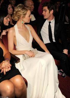Emma Stone in Narcisco Rodriguez at the 2012 Tony Awards.