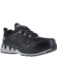 a502c5ffc3c835 Reebok Work Womens Zigkick Work Shoe BlackGrey 8 M US     Details can be  found by clicking on the image.