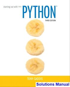 37 best solution manual dowload images on pinterest textbook rh pinterest com Starting Out with Python Solutions starting out with python 2nd edition solutions manual