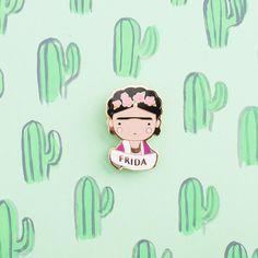 Frida Kahlo Pin - Sketchinc