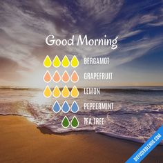 Good Morning - Essential Oil Diffuser Blend