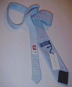 f36350b7c333 Vineyard Vines Martha's Custom Collection Mens NB 125th Blue Necktie New NWT  #VineyardVines #Tie