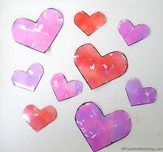 tissue bleed valentines hearts