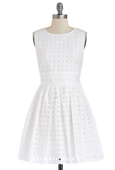 "Brides.com: 37 Little White Dresses You Can Buy Right Now. ""Meaningful Morning"" dress, $69.99, Jack by BB Dakota available at ModCloth  See more high neck wedding dresses."
