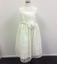 Francesca Dress - Ivory - Flower Girl Dresses - Dresses out of stock available in a few colours
