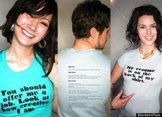 The T-Shirt Resume | 21 Masterfully Creative Resumes
