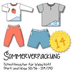 Tolle, kostenlose Schnittmuster für Kinder, Damen und Taschen. http://kaariainen.blogspot.de/p/sommerverpackung.html