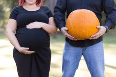 Houston Maternity Session, mom and dad, pumpkin pregnancy photo, fall photo session www.gildedsun.com