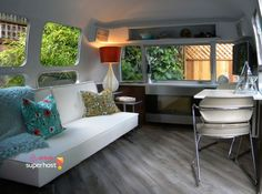 Mill Valley, CA. 1969 Airstream - Marsha Heckman - Get $25 credit with Airbnb if you sign up with this link http://www.airbnb.com/c/groberts22