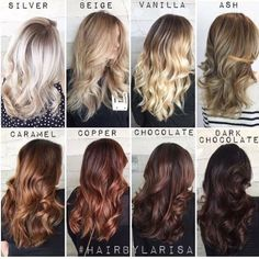 shoutout to @larisadoll for this amazing balayage work http://www.qunel.com/ fashion street style beauty makeup hair men style womenswear shoes jacket
