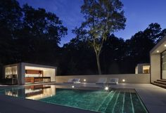 New Canaan Residence | Connecticut | Specht Harpman Pool. ideas, backyard, patio, diy, landscape, deck, party, garden, outdoor, house, swimming, water, beach.
