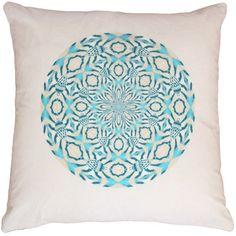 Anjali Hood - Indian Roller Velvet Cushion ($250) ❤ liked on Polyvore