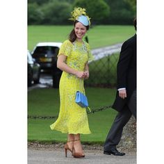 Pippa Middleton Wedding Best Dressed Guests - Image 11 : Harper's... ❤ liked on Polyvore featuring home and home decor