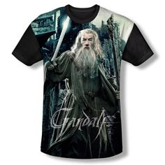 The Hobbit Battle Of The Five Armies Gandalf Shirt $27