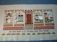 Library by Little House Needleworks