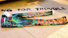 Trend report kids fashion summer 2014 | Denim voor kinderen zomer 2014  | Blue Rebel print denim met stretch