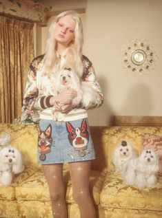 See Petra Collins' puppy love-themed shoot for Gucci - Gallery 1 - Image 9