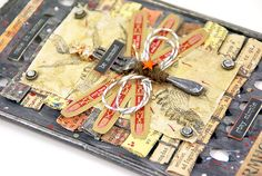 altered grater tattered angels 7gypsies architextures mixed media altered art