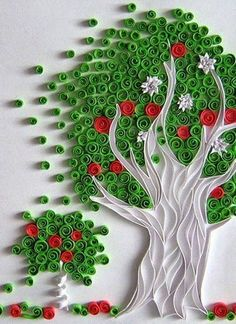 The Quilled Tree