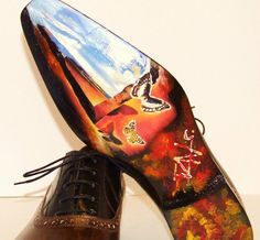 LE NOEUD PAPILLON: The Surrealist's Sole - The Finished Pair Of Ivan Crivellaro Shoes Hand Made In Italy