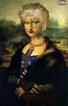 Joconde Mona Lisa la mariée Marocaine                                                                                                                                                                                 Plus