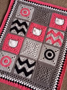 Ravelry: Modern Patchwork pattern by BabyLove Brand