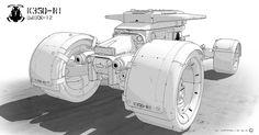 ArtStation - Armored Hot Rod, Mathieu Latour-Duhaime