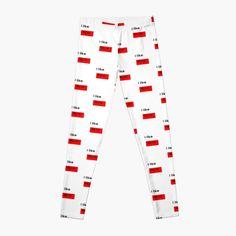 Leggings 'I like my cat' par roseyasmine Cat Leggings, People, T Shirt, Creations, Pajama Pants, Pajamas, Boutique, Cats, Fashion