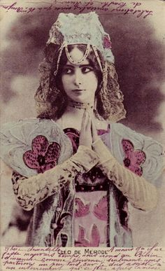 My Bohemian History  Cléo de Mérode - c. 1900