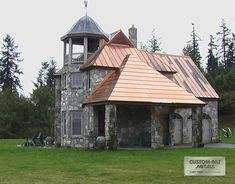 How would you like your own private castle! This one is extra extravagant with its beautiful copper roof. This is a winning combination! Copper Roof, Metal Roof, Roofing Systems, Roofing Contractors, Nottingham, Log Homes, My Dream Home, Home Goods, Creativity