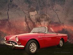Sunbeam Tiger (1965) ... with Don Adams and Barbara Feldon looking suitably impressed.