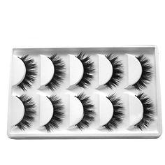 Eye beauty Real Mink Long Natural Thick Makeup Eye Lashes False Eyelashes #Unbranded
