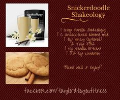 Snickerdoodle Shake