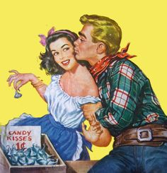 Candy Kisses ~ ca. late 1940s