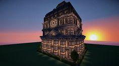 Baroque Mansion Minecraft World Save