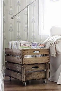 Ohoh Blog - diy and crafts: DIY Monday # Magazine storage