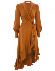 The ZIMMERMANN Ready To Wear Collection includes designer dresses, tops, accessories & more, perfect for any occasion. Elegant Dresses, Pretty Dresses, Beautiful Dresses, Casual Dresses, Wrap Dresses, I Dress, Dress Outfits, Fashion Dresses, Wrap Dress Outfit