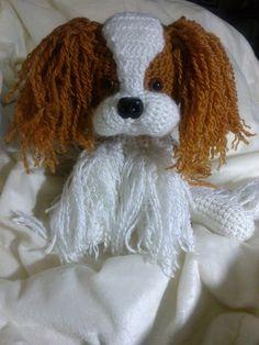 Crochet de chien épagneul Cavalier King Charles n'importe quelle race ou couleurs